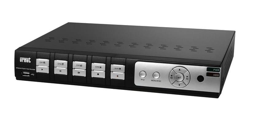 Sistema di sorveglianza e controllo Videoregistratore digitale 8 CH HD 720p by Urmet