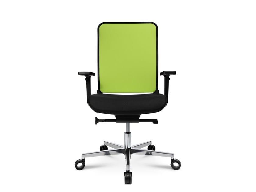Swivel task chair with 5-Spoke base W-1 C LOW by WAGNER