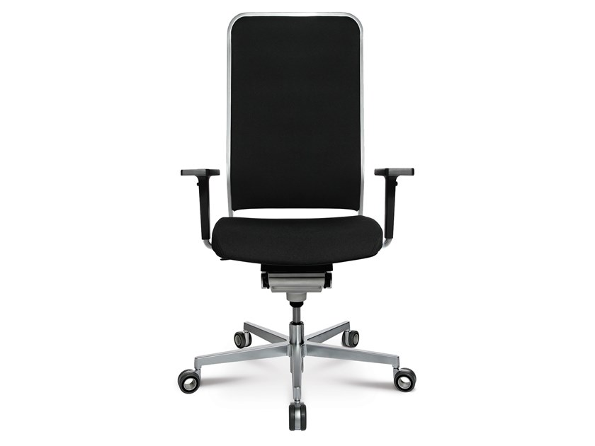 Swivel task chair with 5-Spoke base W-1 HIGH by WAGNER