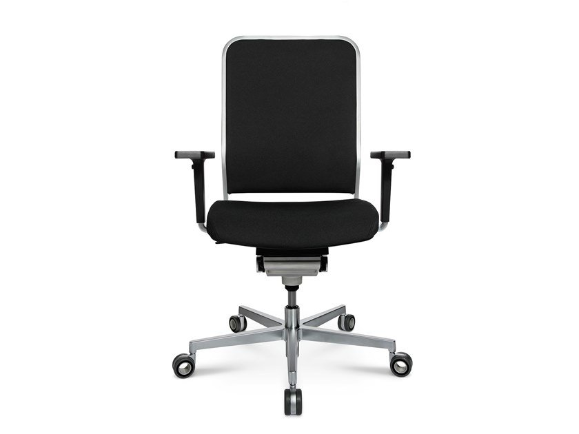 Swivel task chair with 5-Spoke base W-1 LOW by WAGNER