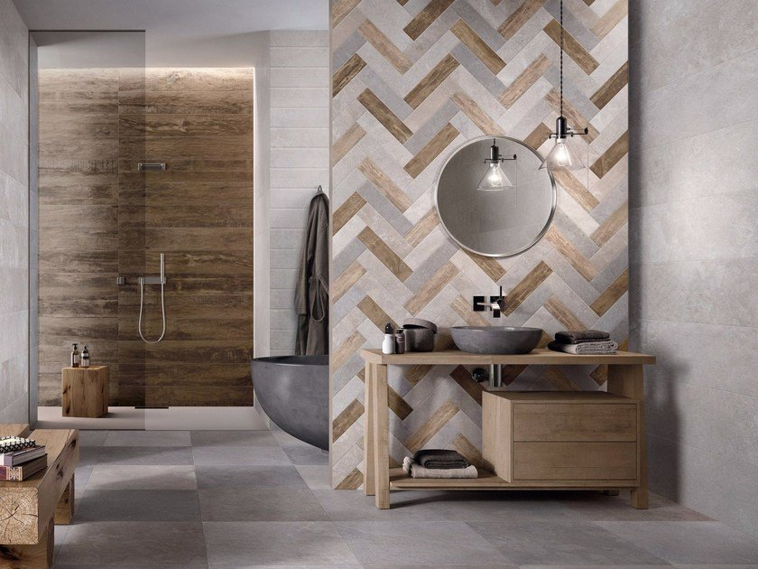 Wall&Porcelain™ wall tiles W_ALL By Flaviker