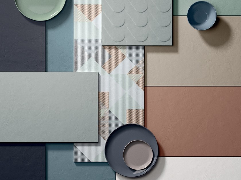 Wall&Porcelain™ wall tiles W_ALL TONES by Flaviker