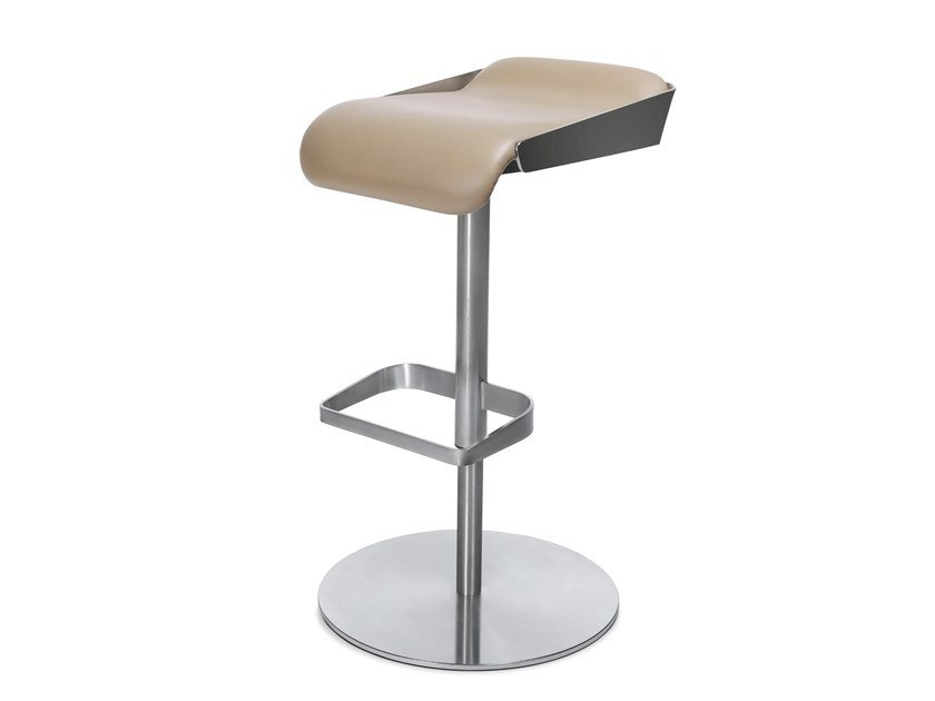 Barstool with footrest W-BARSTOOL by WAGNER