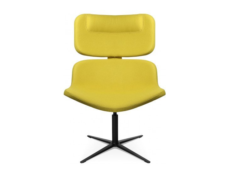 Acoustic swivel armchair W-LOUNGE SOUND by WAGNER