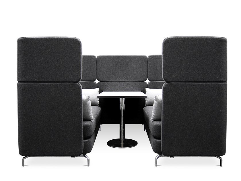 Acoustic office booth W-LOUNGE WORKSTATION by WAGNER
