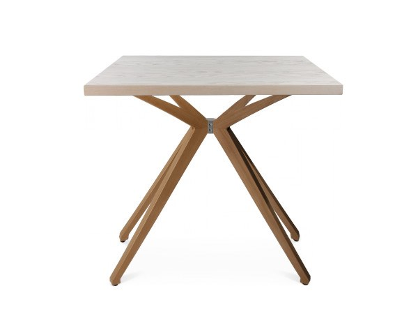 Rectangular table W-TABLE - KLEIN | Rectangular table by WAGNER