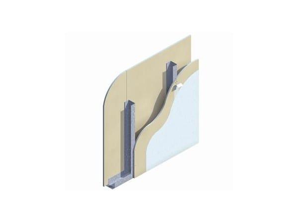 Prefabricated wall panel W111 by Knauf Italia