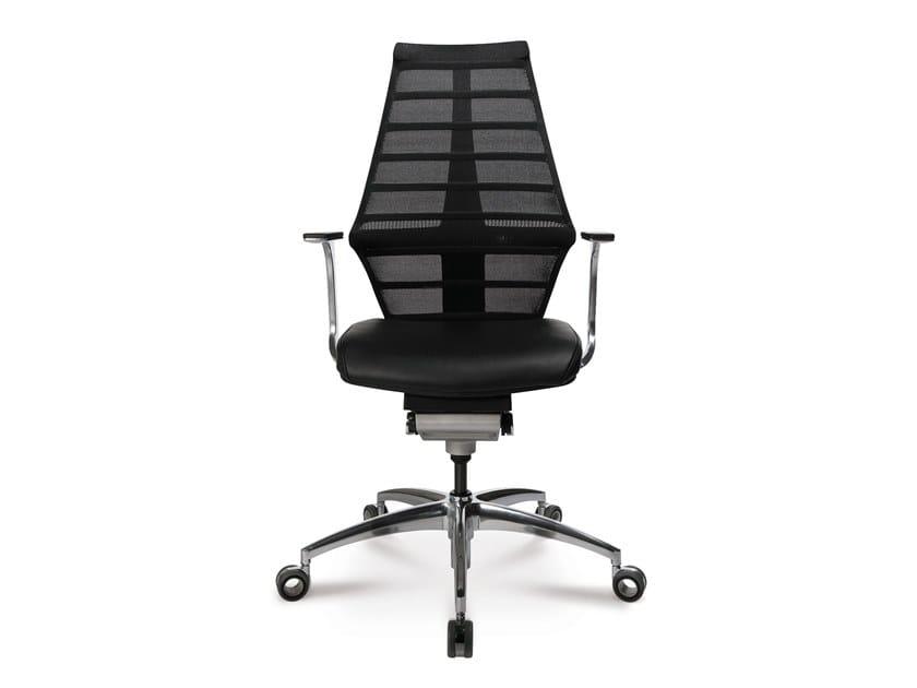 Swivel task chair with 5-Spoke base W5-1 by WAGNER