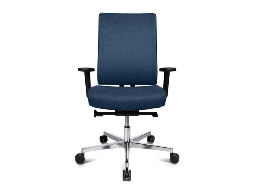 Swivel task chair with 5-Spoke base W7 by WAGNER