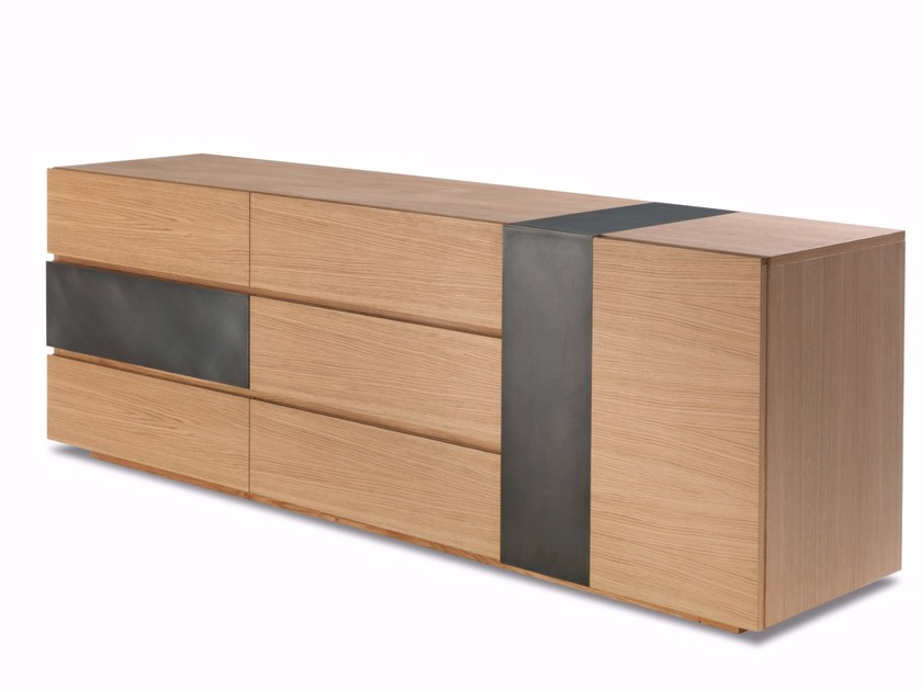 Sideboard with doors with drawers WABI & WABY SMALL by Riva 1920