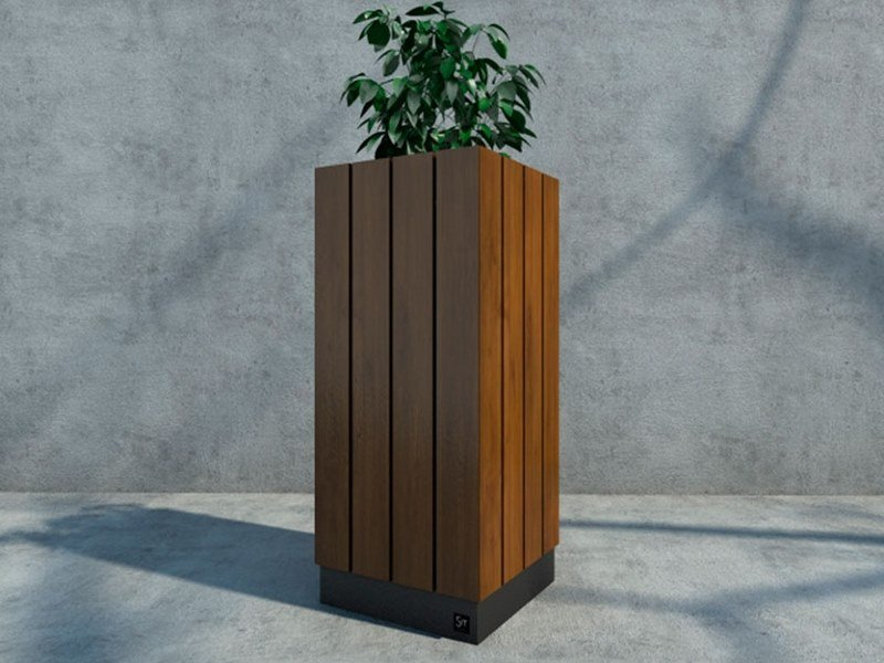 High square Flower pot WADE   Flower pot by Sit