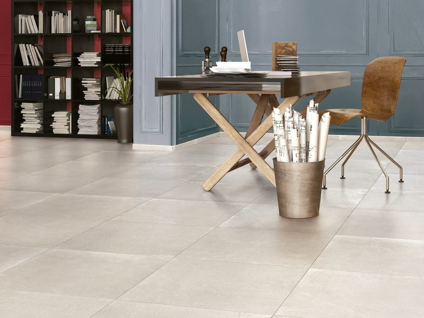 Indoor/outdoor porcelain stoneware flooring WALK | Flooring by Ceramica Cercom