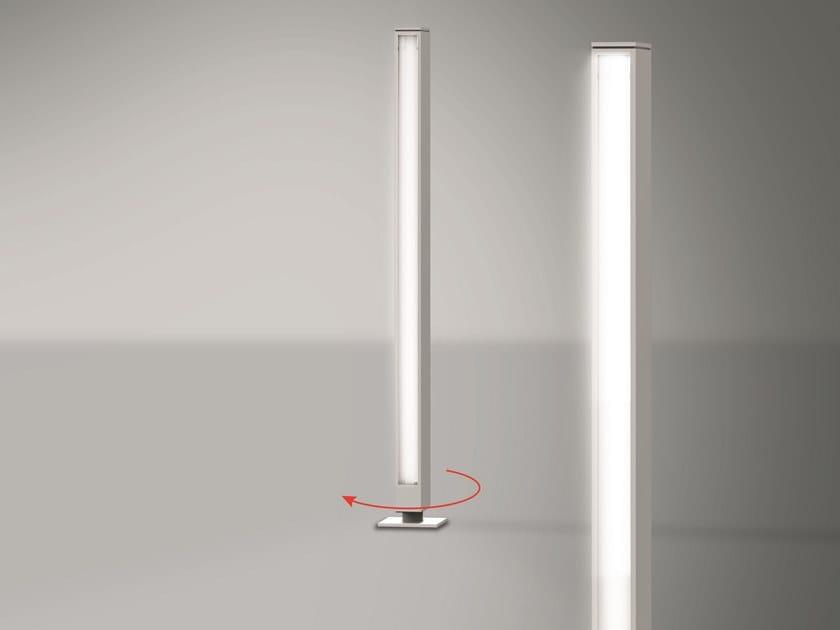 LED aluminium bollard light WALKING FOCUS by Artemide