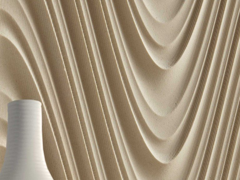 Marble 3D Wall Tile WALL 1 LIMESTONE by Lithos Mosaico Italia