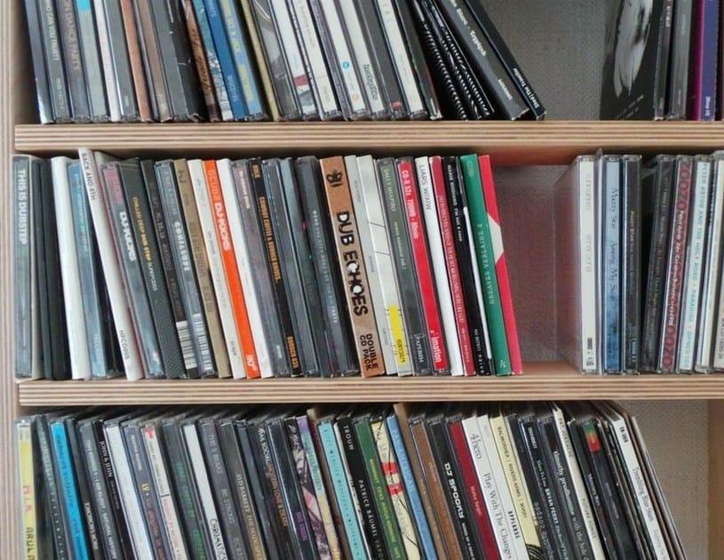 mobile porta cd componibile da terra su misura wall disc laqu e by malherbe edition design. Black Bedroom Furniture Sets. Home Design Ideas