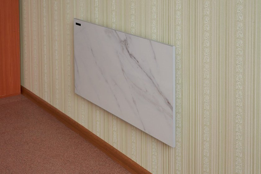 Infrared wall-mounted decorative radiator WALL MOUNTED by Infralia