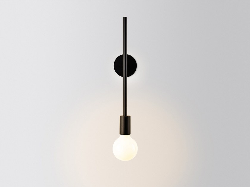 LED wall lamp WALL POWERED WALL STEP by Volker Haug Studio