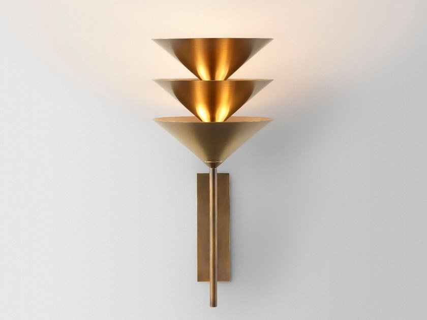 LED wall lamp WALL STACK 3 by Volker Haug Studio