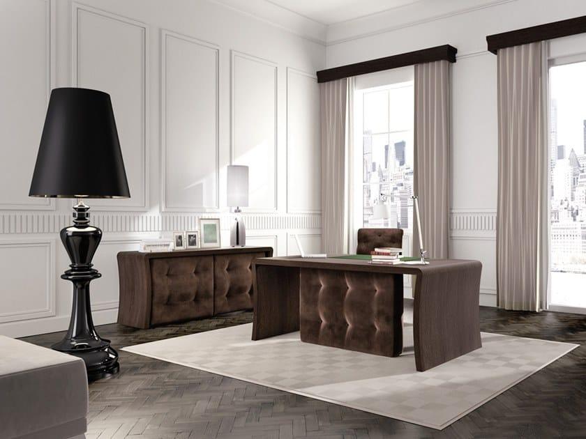 Rectangular velvet writing desk WALL STREET | Writing desk by Scandal
