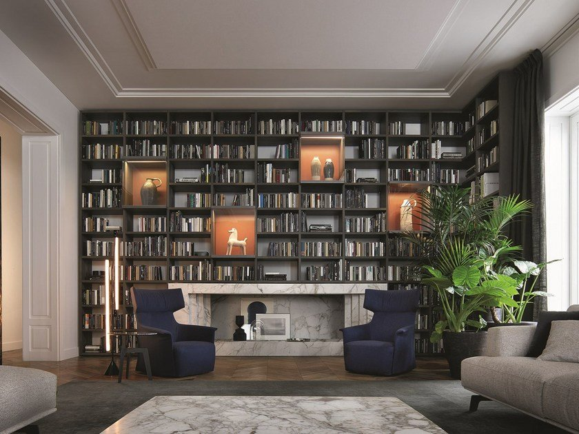 Librerie Componibili Poliform.Wall System By Poliform