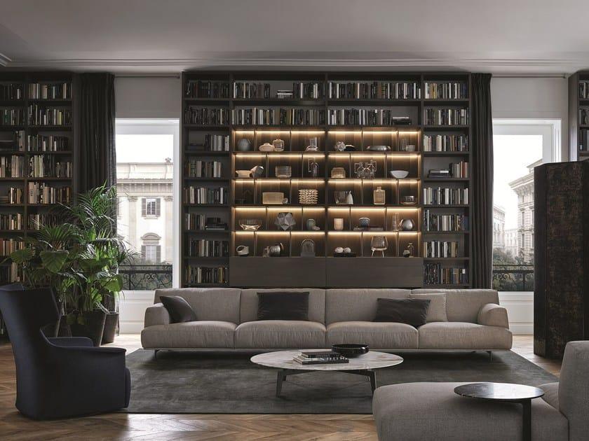 Componibile System Legno Wall Libreria In Poliform m80wvNOn