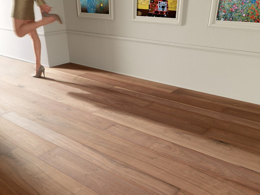 Walnut wall/floor tiles WALNUT USA - SANDED, NATURAL OIL by mafi