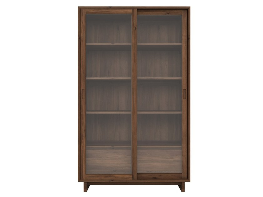 Walnut bookcase WALNUT WAVE   Bookcase by Ethnicraft