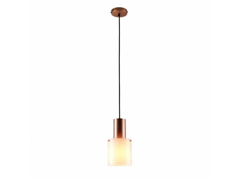 Opal glass pendant lamp WALTER | Opal glass pendant lamp by Original BTC