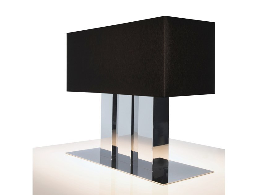 Direct-indirect light metal table lamp WALTZ OF VIENNA T3 by ILFARI