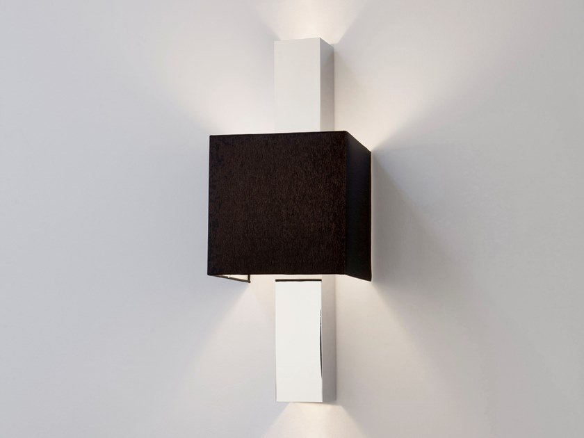 Direct-indirect light metal wall lamp WALTZ OF VIENNA W1+2 by ILFARI