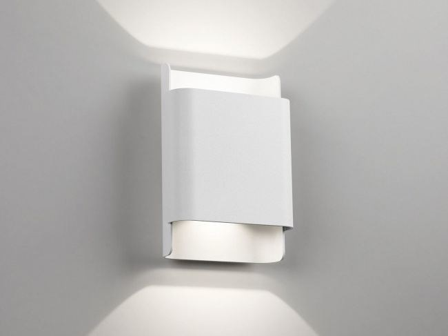 LED aluminium wall light WANT-IT S / L by Delta Light