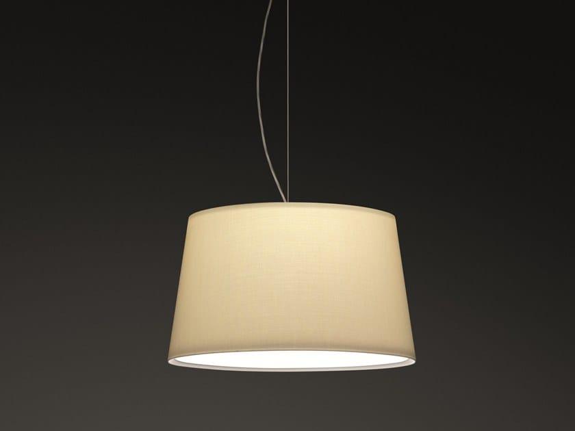 Fiberglass pendant lamp WARM 4925-4935 by Vibia