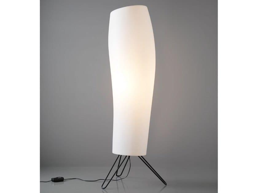 Polyethylene floor lamp WARM by Quadrifoglio