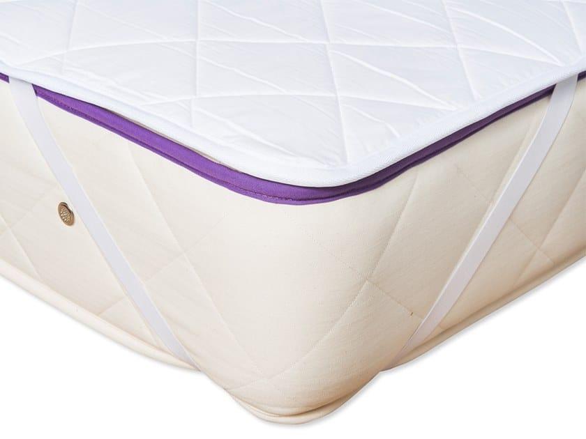 Coprimaterasso imbottito lavabile in cotone WASHABLE WOOL by Naturalmat