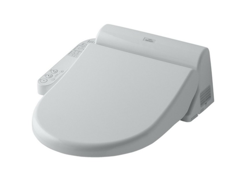 Toto Japanese Toilet Seat. Electronic toilet seat with soft close WASHLET EK by TOTO By