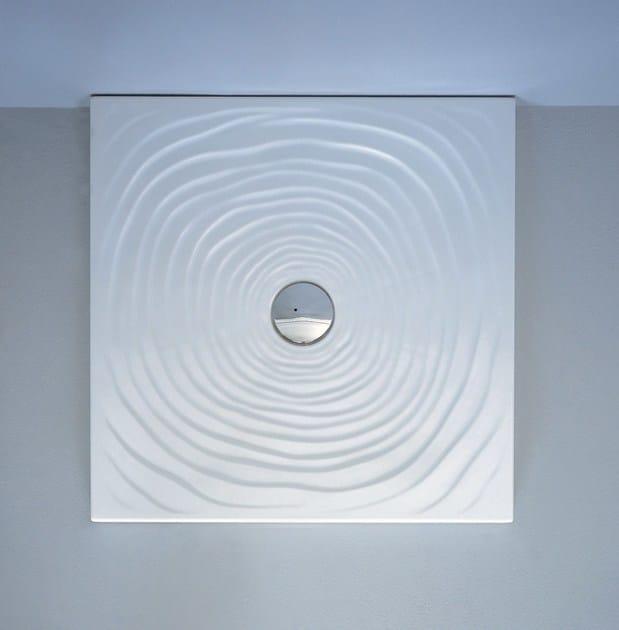 WATER DROP 80 X 80 | Piatto doccia in ceramica