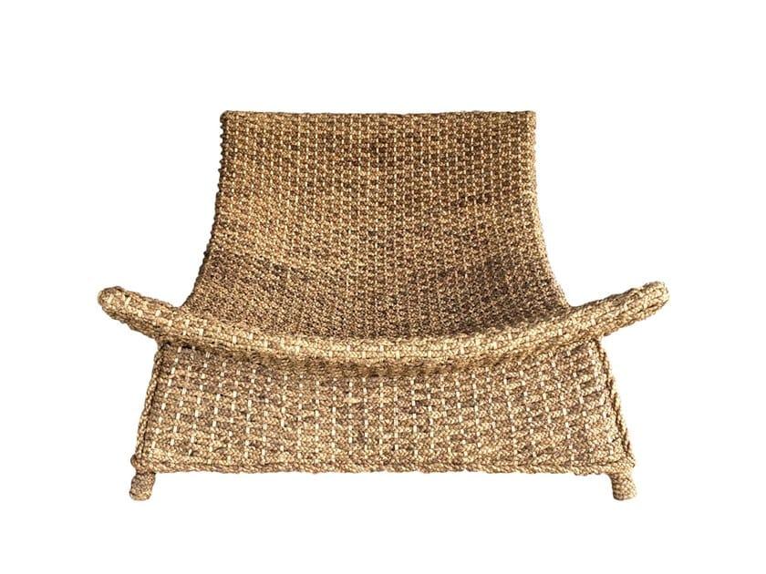 Natural fibre easy chair WATERHYACINTH | Easy chair by Bazar Bizar