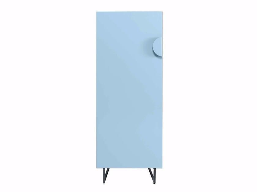 Steel sideboard with doors WATERLOO by AZEA