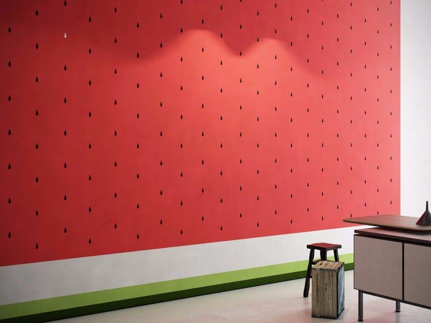 Washable vinyl wallpaper WATERMELON by GLAMORA
