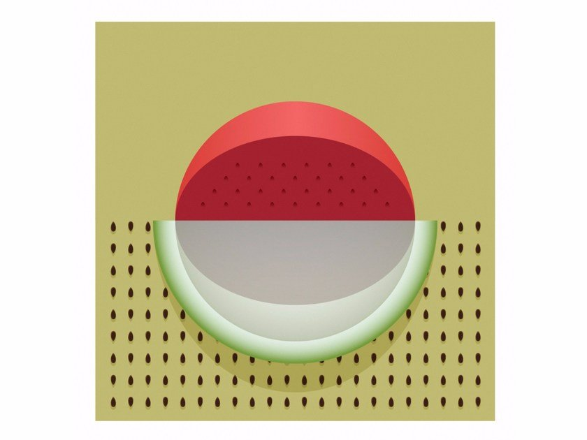 Print on paper WATERMELON SENSIMILLA by Andre Brik