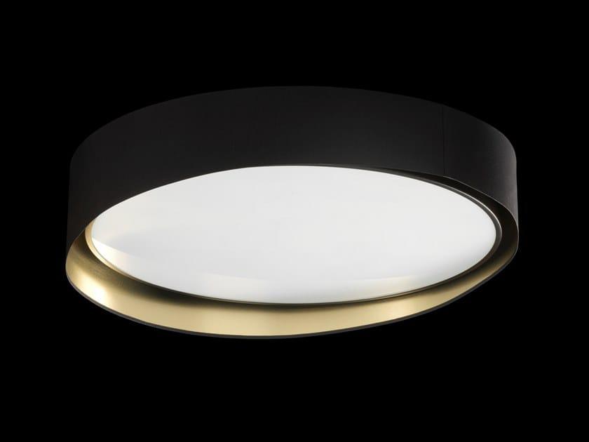 Plafoniera Led Moderna : Plafoniera a led luce diretta in alluminio stile moderno wave