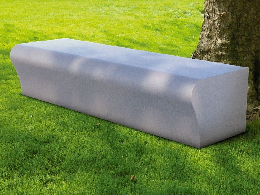 Modular backless Bench WAVE | Bench by SIT