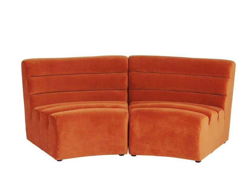 Modular fabric sofa WAVE | Modular sofa by KARE-DESIGN