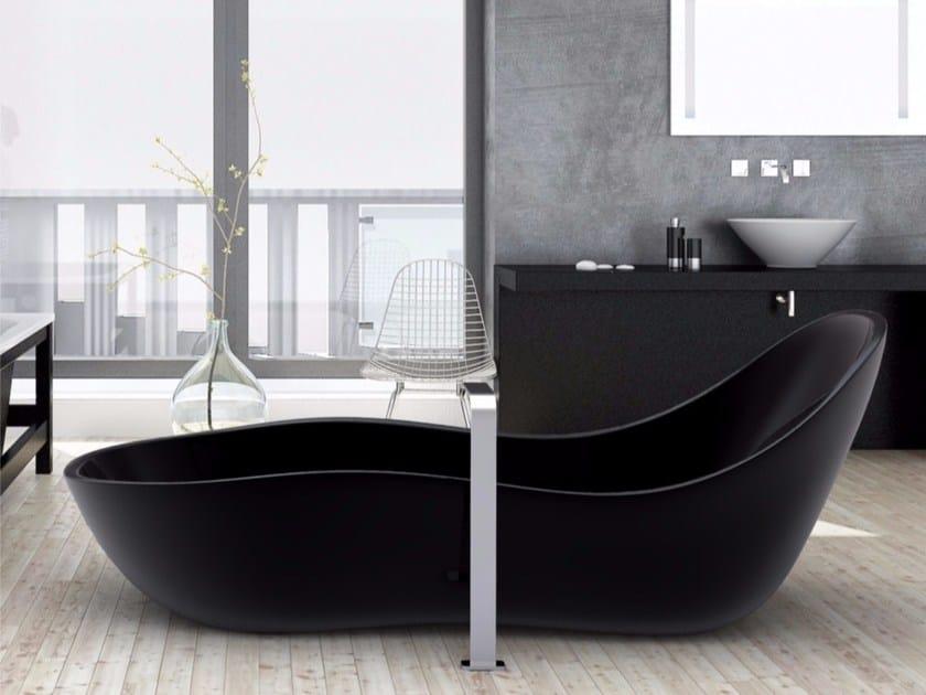 Freestanding Adamantx® bathtub WAVE by ZAD ITALY