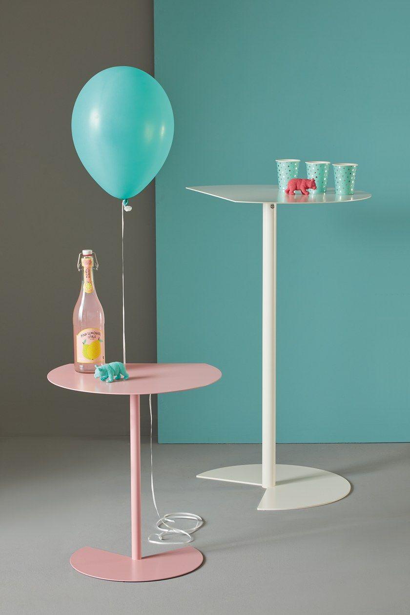 Table Way Meme CmcoquelicotMétal H 90 Basse Design Bar ywvn0N8mO