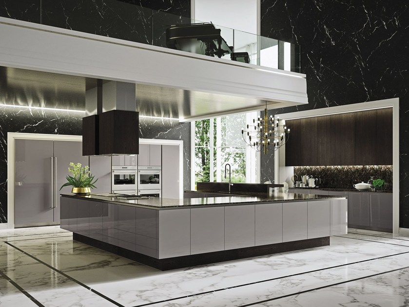 WAY | Kitchen with island By Snaidero