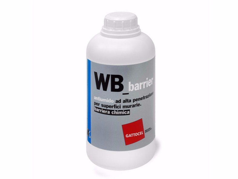 Chemical barrier anti-humidity system WB_barrier by Gattocel Italia