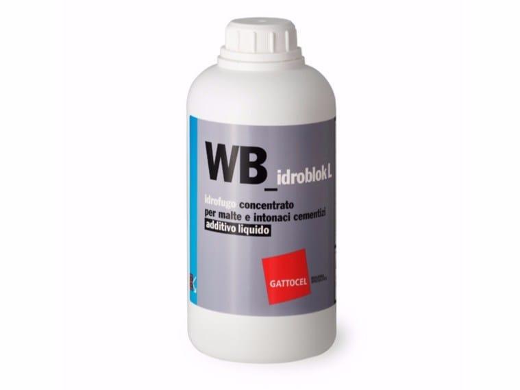 Additive for cement and concrete WB_idroblok L by Gattocel Italia