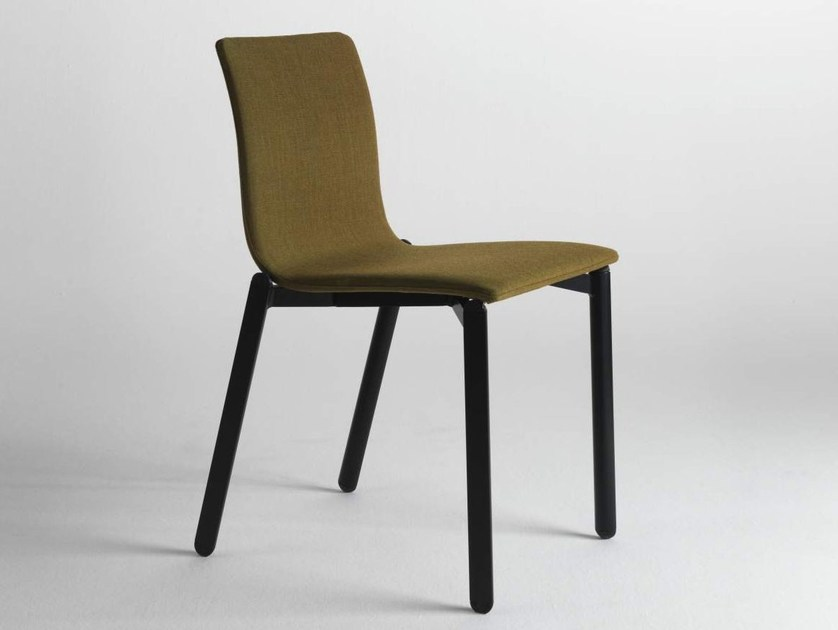 Upholstered fabric chair WE by Lago