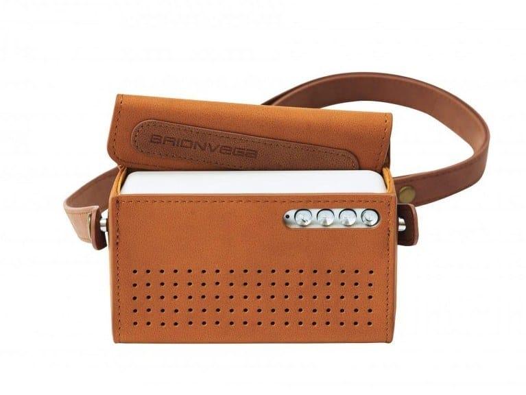 Bluetooth portable speaker WEAR-IT by Brionvega